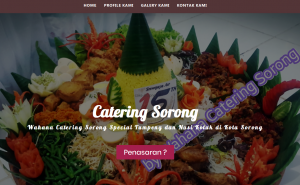 catering sorong